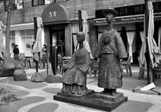 statyn av järnet Royaltyfria Foton