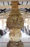 Statyn av majapahitkungariket i museet Trowulan arkivfoton