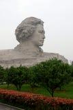 Statyn av Mao Zedong Fotografering för Bildbyråer