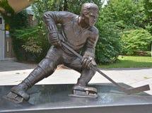 Statyn av Maurice Rocket Richard, Arkivbild