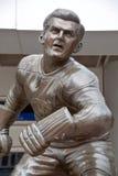 Statyn av Maurice Rocket Richard Royaltyfri Foto