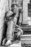 Statyn av Nilen Arkivfoto