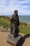 Statyn av St Crannog Royaltyfri Fotografi