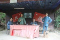 Statyn av upprorsmannen i den Parkï för röd armé ¼en Œshenzhen, porslin Royaltyfri Foto