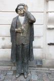 Statyn av vränger Taube, Stockholm Arkivbild