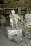 Statyn fördärvar in av Pompeii italy Royaltyfri Foto