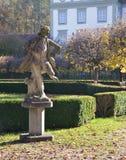 Statyn i den Furstenfeld abbotskloster parkerar Arkivbilder