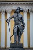 Statyn på offentligt parkerar i St Petersburg, Ryssland Arkivbilder