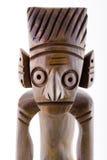 statyn wodden Arkivbilder