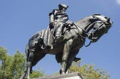 Statyskulptur av George Washington Arkivfoto