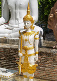 Statytempel Thailand Arkivfoton