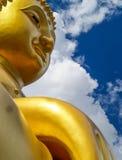 Statytempel Thailand Arkivfoto