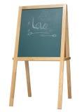 Statywowy blackboard Obraz Stock