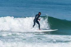 statywowy paddle surfingowiec Zdjęcia Stock