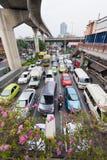 Stau in Bangkok Stockfotografie