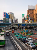 Stau Tokyo Stockfotografie