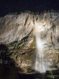 Staubachfall на ноче Стоковые Фотографии RF