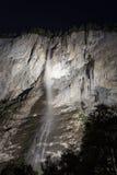 Staubachfälle at night Royalty Free Stock Photos