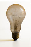 Staubig brennen Sie Glühlampe aus Lizenzfreie Stockfotos