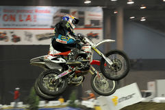 Staubige Klatt supermotocross 2009 Lizenzfreie Stockfotos