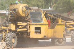 Staubiger Aufbau in Phoenix Lizenzfreies Stockbild