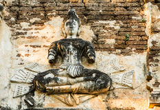 Staue of angel wat jedyod chiangmai Thailand Royalty Free Stock Photo