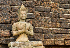 Staue of angel wat jedyod chiangmai Thailand Royalty Free Stock Images
