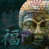 staue de Bouddha illustration de vecteur