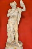 Staue de Dionysus ou de Bacchus dans le musée de Vatican photographie stock libre de droits