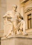 Staue del Julius Caesar - di Vienna dal Parlamento Immagini Stock Libere da Diritti