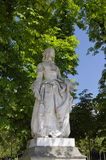 Staue i den Luxembur trädgården Arkivbild