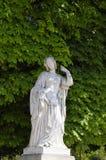 Staue in Luxembur Garden. Paris, France royalty free stock images