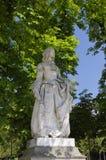 Staue no jardim de Luxembur Fotografia de Stock