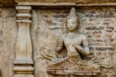Staue von Engel wat jedyod chiangmai Thailand Stockfotografie