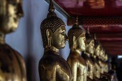 Staues Будды в Бангкоке, Таиланде стоковые изображения