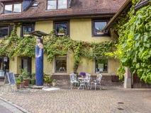 Staufen im Breisgau street view, Germany royalty free stock photos