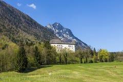Известный замок Staufenberg Стоковое фото RF
