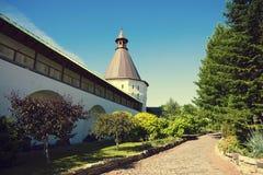 Stauropegial Novospassky Monastery in Moscow Royalty Free Stock Image