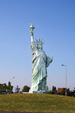 The Staute of Liberty in Colmar Stock Image