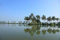 Stauwasser von Kerala Stockfotos