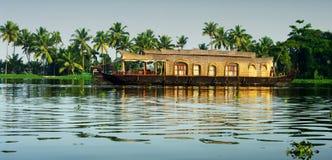 Stauwasser von Kerala Lizenzfreie Stockbilder