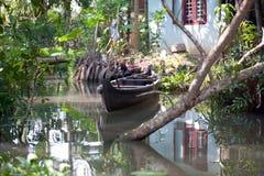 Stauwasserboot Stockfotos