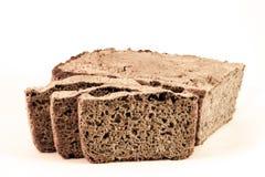 Stavad råg för mörkt bröd Royaltyfri Fotografi