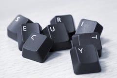 stavad säkerhet för tangentbordtangenter Royaltyfria Foton