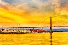 Stavanger στη Νορβηγία Στοκ εικόνες με δικαίωμα ελεύθερης χρήσης