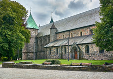 Stavanger Cathedral church Domkirken Royalty Free Stock Photo