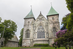 Stavanger Cathedral Royalty Free Stock Photos