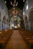 Stavanger Cathedral Interior Stock Photo