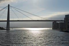 Stavanger City Bridge Stock Photo