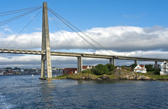 Stavanger City Bridge Stock Image